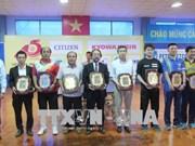 Echange sportif entre le Vietnam et le Japon à Ho Chi Minh-Ville