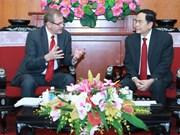 Une délégation de l'Eglise de Jésus-Christ des Saints des Derniers Jours au Vietnam