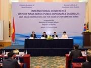 Rôle du Vietnam et de la R. de Corée dans la coopération en Asie de l'Est