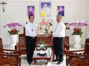 Fête de la Saint Joseph : les autorités de Binh Phuoc félicitent le diocèse de Phu Cuong