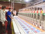 Nombre record d'entreprises participant au Saigontex 2018