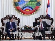 L'Inspecteur général du gouvernement vietnamien reçu par le PM laotien