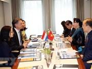 Vietnam-Pays-Bas : volonté commune de renforcer la coopération dans les ports maritimes