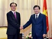 Promotion de la coopération avec la ville chinoise de Chongqing