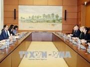 Vietnam - Etats-Unis : renforcement de la coopération entre les organes législatifs