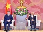 Le Vietnam et la Roumanie boostent la coopération parlementaire