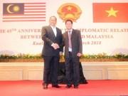 Messages de félicitations pour les 45 ans des relations Vietnam – Malaisie