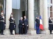 Le secrétaire général Nguyen Phu Trong en visite officielle en France