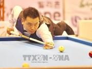 Championnats d'Asie de billard carambole: les Sud-coréens dominent à trois bandes