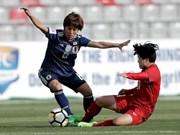Football féminin : le Vietnam a été battu par le Japon à Asian Cup 2018