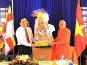 Voeux à destination de la population khmère à l'occasion du Tet Chol Chnam Thmay