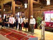 Exposition sur la culture d'Oc Eo au Temple de la Littérature