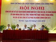 Indice de la réforme administrative 2017: Quang Ninh en tête du classement