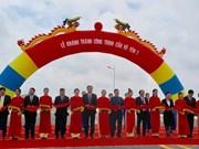 Inauguration du pont Vu Yen 1 à Hai Phong