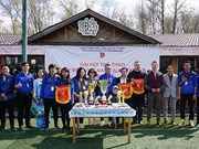 Ouverture d'un festival sportif des étudiants vietnamiens à Moscou