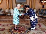 La reine Elizabeth II est satisfaite du développement des relations avec le Vietnam