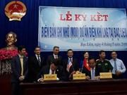 Signature d'un protocole d'accord sur un projet de GNL à Bac Lieu