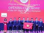 Ouverture des 19es Olympiades de physique d'Asie au Vietnam