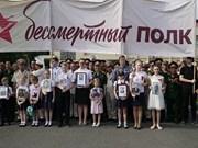 L'action «Régiment immortel», une démonstration de l'amitié Vietnam-Russie