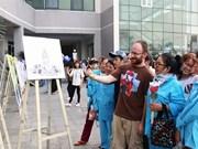 Da Nang: des peintures en réalité virtuelle pour les malades