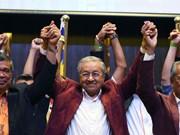 Félicitations au Premier ministre malaisien