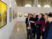 Exposition des peintures contemporaines de Nguyen Minh Son en Algérie
