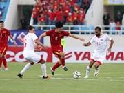 Coupe d'Asie de football 2019: l'équipe vietnamienne rêve en grand