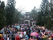 La pagode des Parfums accueille plus de 1,5 million de touristes