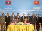 Vietnam et Laos renforcent leur coopération dans la garantie de la sécurité