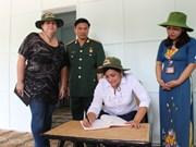 Une délégation de l'Union des jeunes communistes de Cuba à Quang Tri