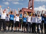 Le Vietnam participe à une course/marche organisée par l'OMS