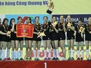 Une sélection chinoise sacrée champion du tournoi international de volley-ball féminin VTV Cup VTV9