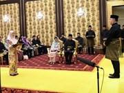 Malaisie : des membres du cabinet prêtent serment