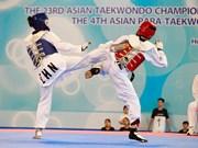Taekwondo: la R. de Corée domine les deux tournois d'Asie à HCM-Ville