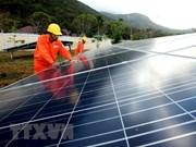 Mise en chantier de la ferme solaire Gelex à Ninh Thuan