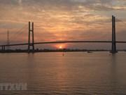 Inauguration du pont Cao Lanh