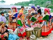 """Bac Hà affiche les belles couleurs du """"Plateau blanc"""""""