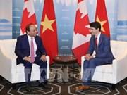 Rehausser la position du Vietnam et créer une nouvelle force dans ses relations avec le Canada