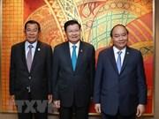 Le PM Nguyên Xuân Phuc multiplie ses rencontres en Thaïlande