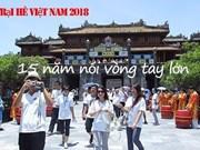 Camp d'été du Vietnam 2018 - ''15 ans – Tendre la main''