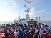 Désir de paix sur le récif de Co Lin (archipel vietnamien de Truong Sa)
