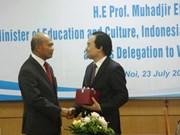 Education: Le Vietnam renforce sa coopération avec la SEAMEO