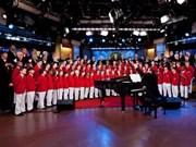 Le chœur américain Philadelphia Boys se produit à Hanoï