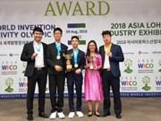 Des élèves vietnamiens remportent de bons résultats aux WICO 2018