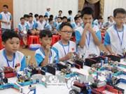 Des élèves de Ho Chi Minh-Ville dominent le concours robotique IYRC Vietnam 2018