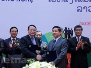 Ouverture du forum TechConnect Vietnam-Laos 2018