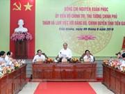 Le chef du gouvernement instaure cinq piliers pour l'économie de Tien Giang