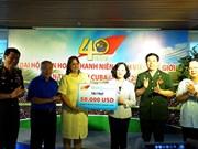 Célébration du 40e anniversaire du 11e Festival mondial de la jeunesse et des étudiants à Cuba