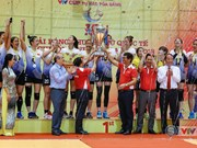 Volley-ball féminin : le Vietnam remporte le tournoi VTV – Coupe Hoa Sen 2018