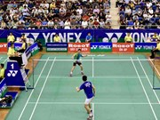 Badminton : fin du tournoi international Yonex-Sunrise Vietnam Open 2018